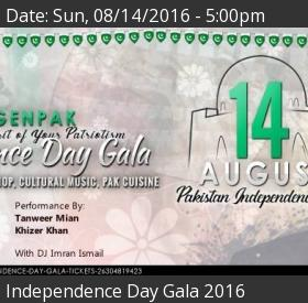 Pakistan Independence Day 2016